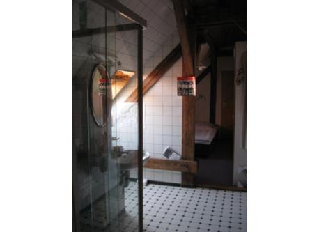 shower-cabin and wc,  open 