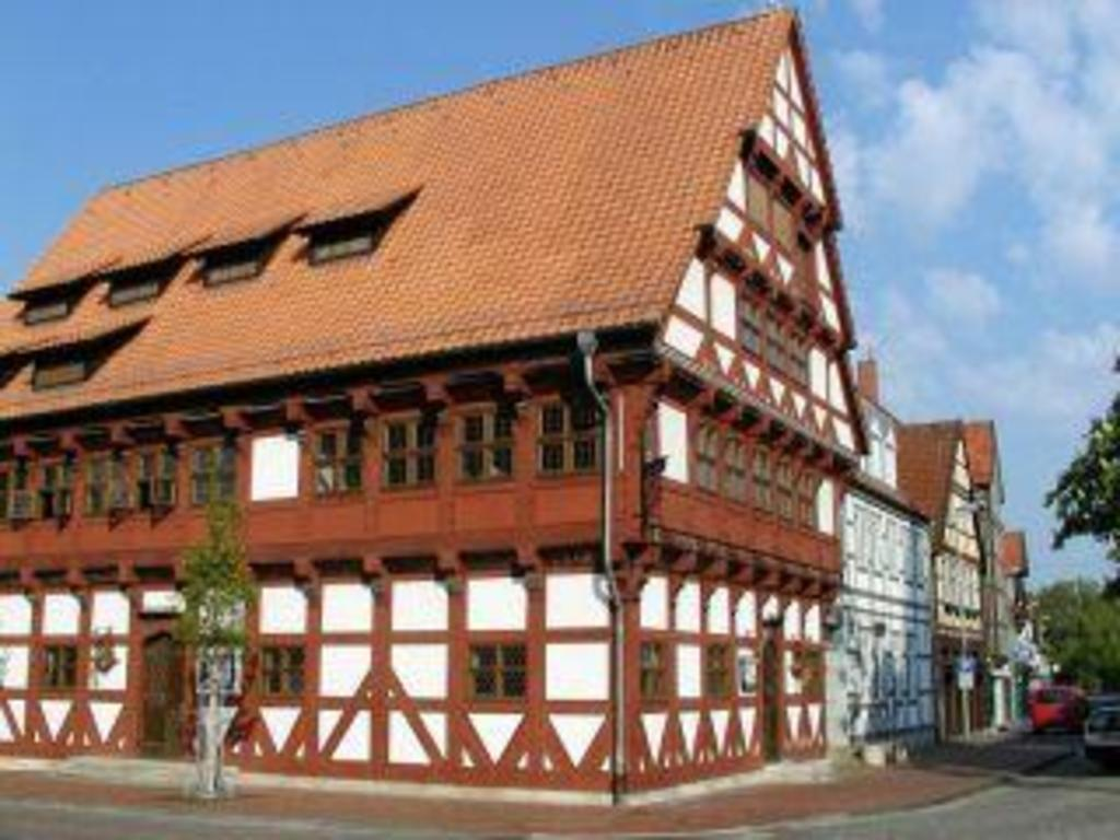 Eldest house in Gifhorn (16th century)