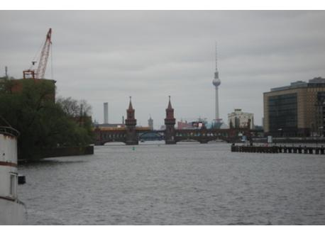 river Spree in walking distance