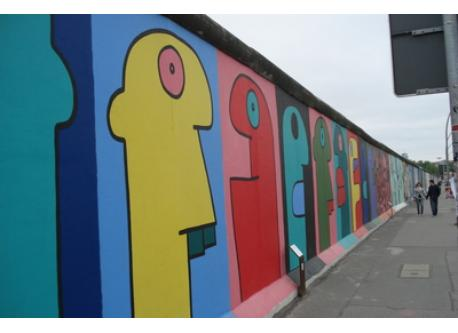 East side gallery in walking distance