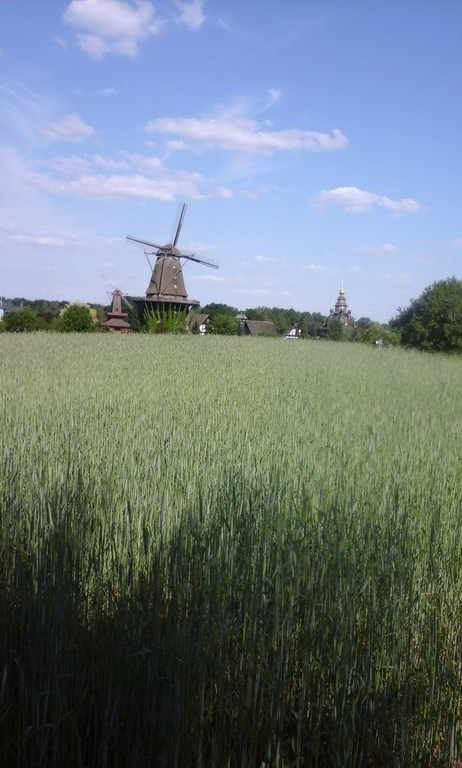 Windmill museum Gifhorn