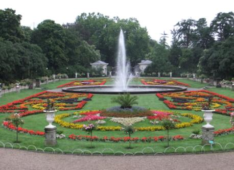 The botanik garden,next door to our home