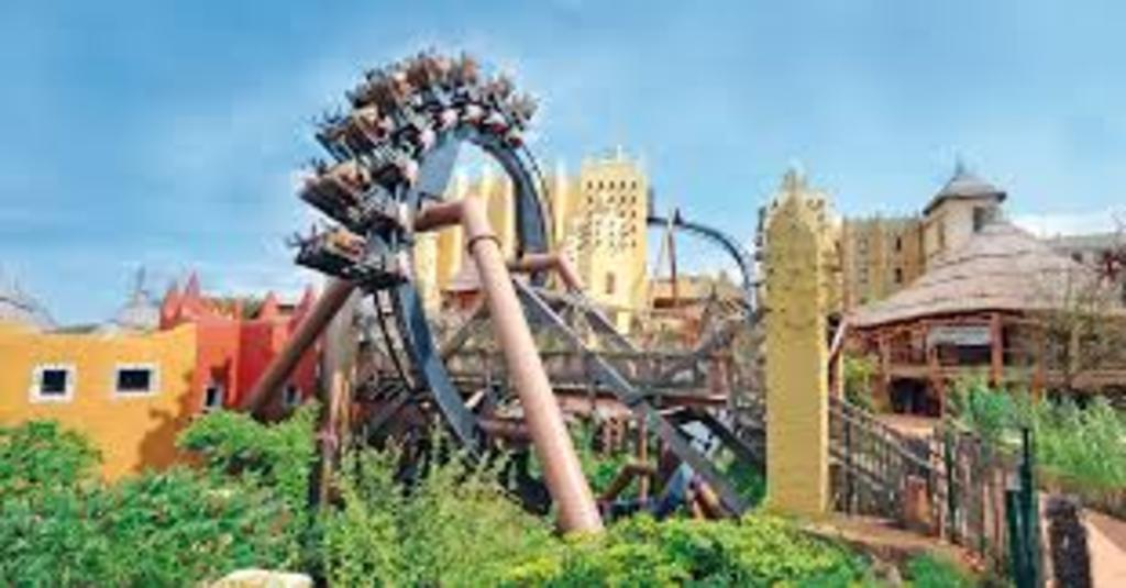 "Amusement Parc ""Phantasialand"" (1 hour by car)"