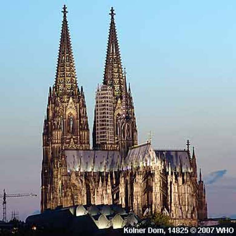 Cologne Cathedral (30 min. by train)