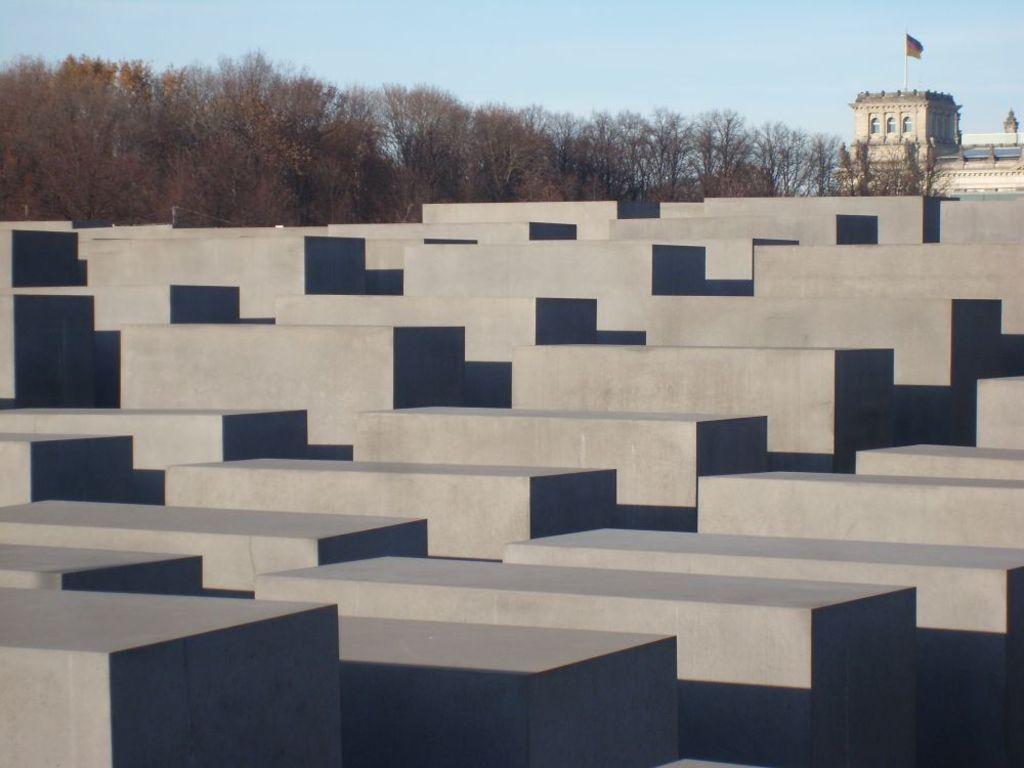 Holocaust Memorial, close to Brandenburg Gate and Reichstag