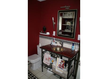The ground floor bathroom