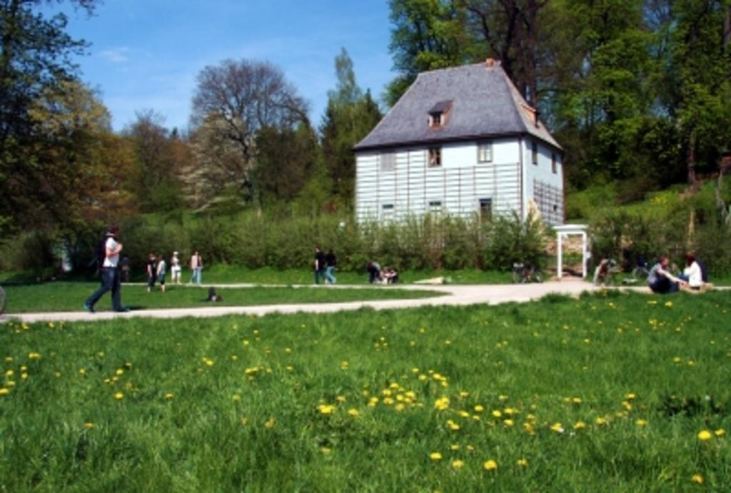 Goethes Gartenhaus: Goethe's garden cottage in the park in Weimar