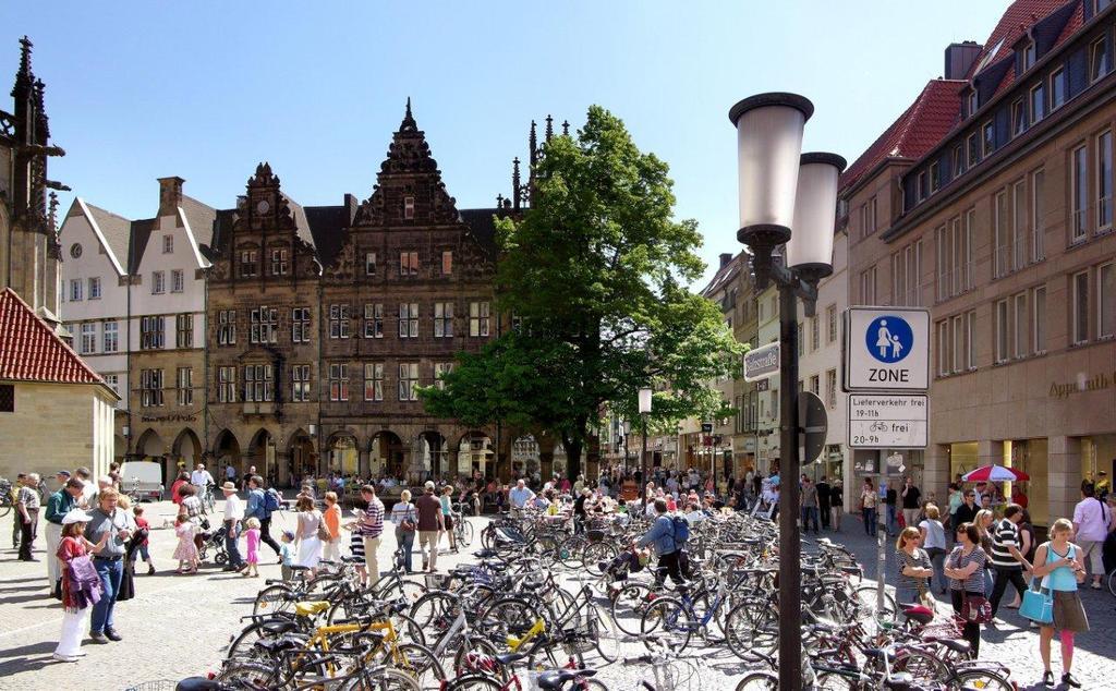 Cycling Capital Münster    Foto: Presseamt Münster / Tilman Roßmöller