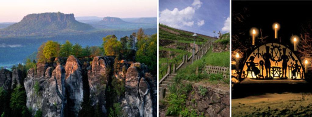 Saxony national parc (40km)