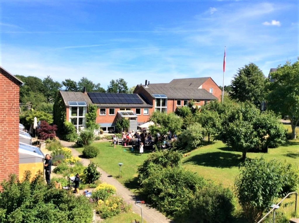 """Our lovely """"community"""" in the sun  (danish """"hygge"""")"""