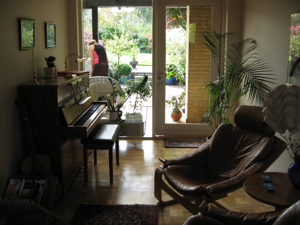 Piano and relax room