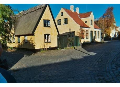 Some of the lovely houses in the old city of Dragør (from the 17th and 18th century)
