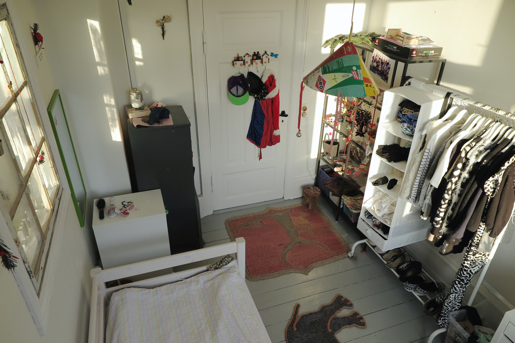 Elizabeth's room.