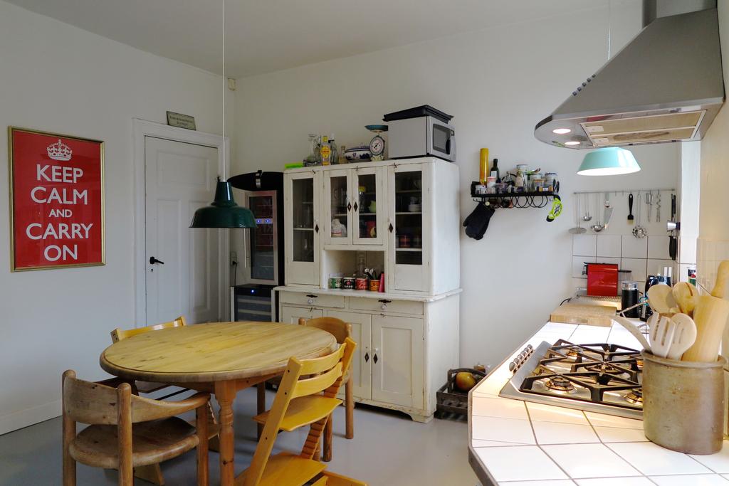Kitchen - gas stove.