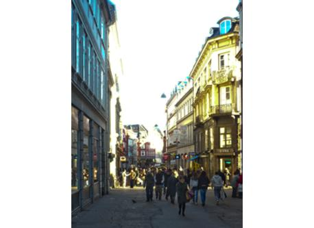 The pedestrian zone, Strøget