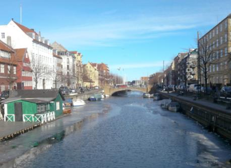 The canals of Christianshavn