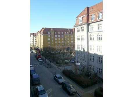 View from bay window