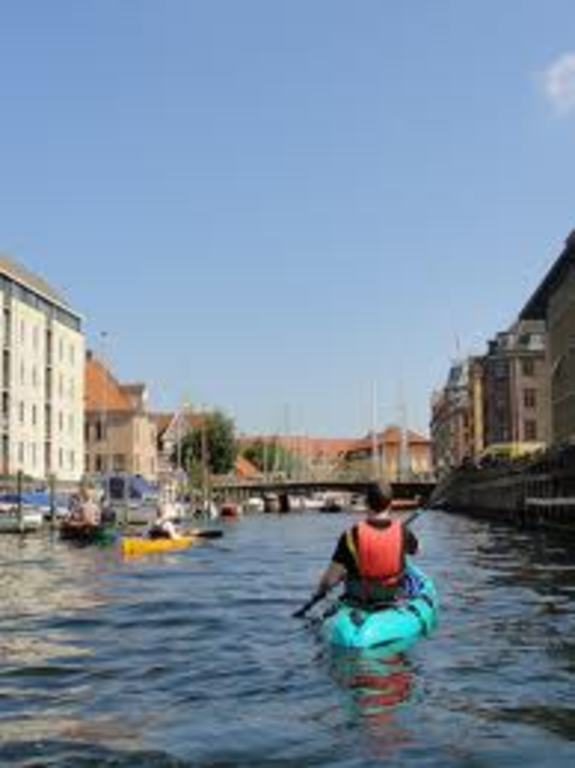 Kayaking in the canals
