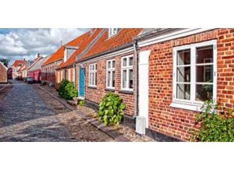 Cosy streets in Ringkjøbing