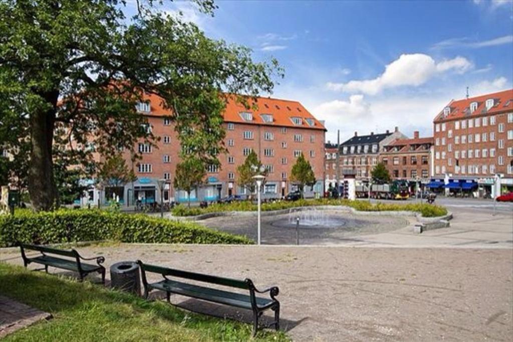 Brønshøj Town square 200 meters form our house