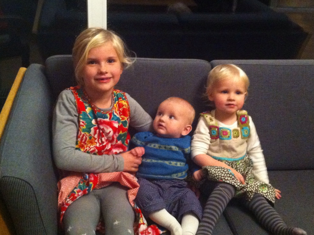 Siri, Laurids and Vilja.