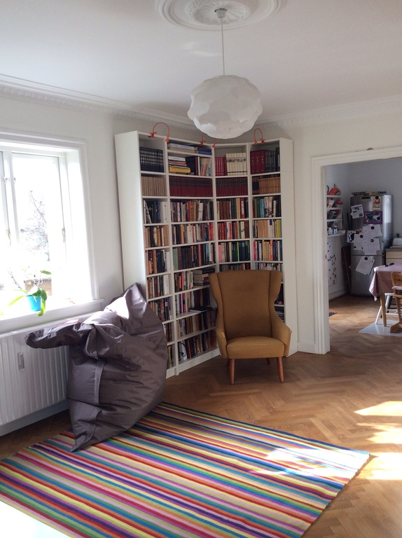 Living room, reading area.