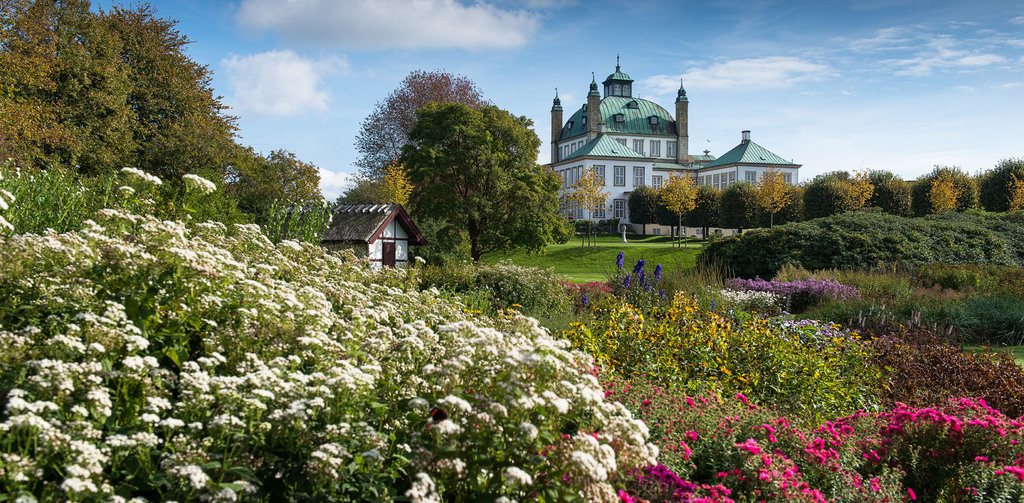 Fredensborg Slot - where the queen lives. Garden is open to the public. The second castel in the area.