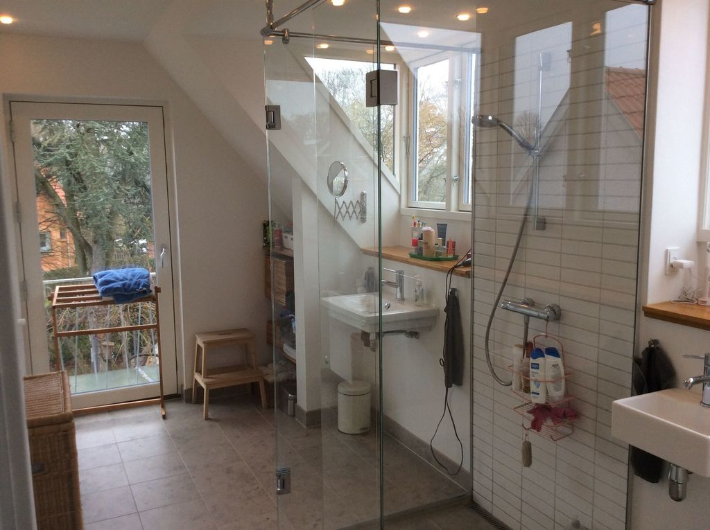 Our newly refurbished bathroom