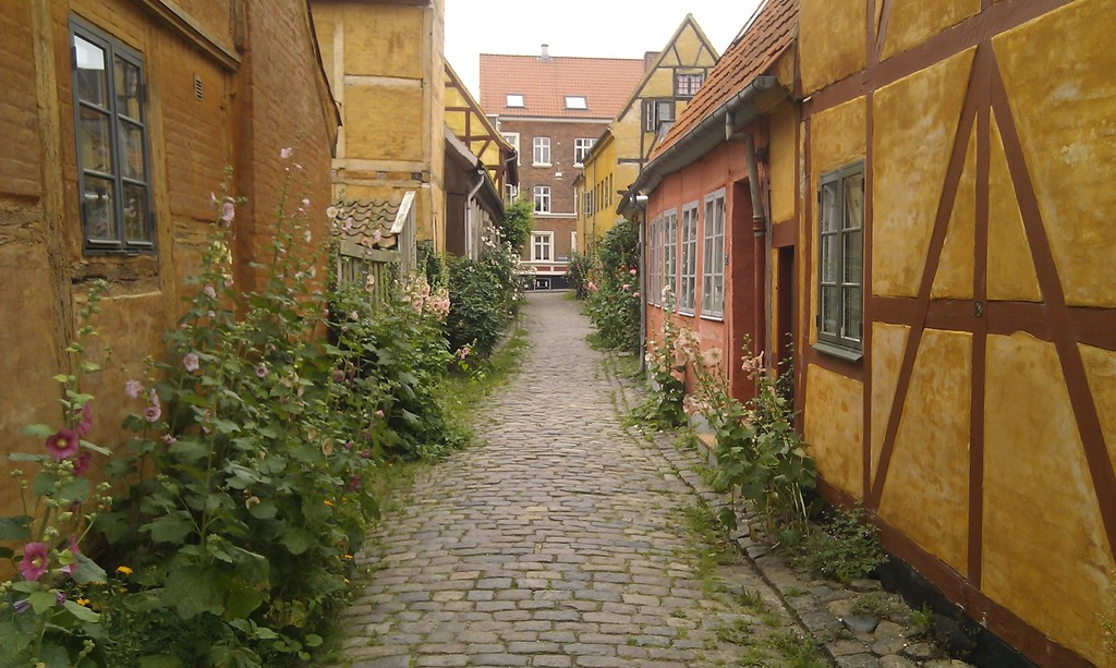 The old City of Helsingør