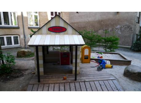 Small playground in the yard