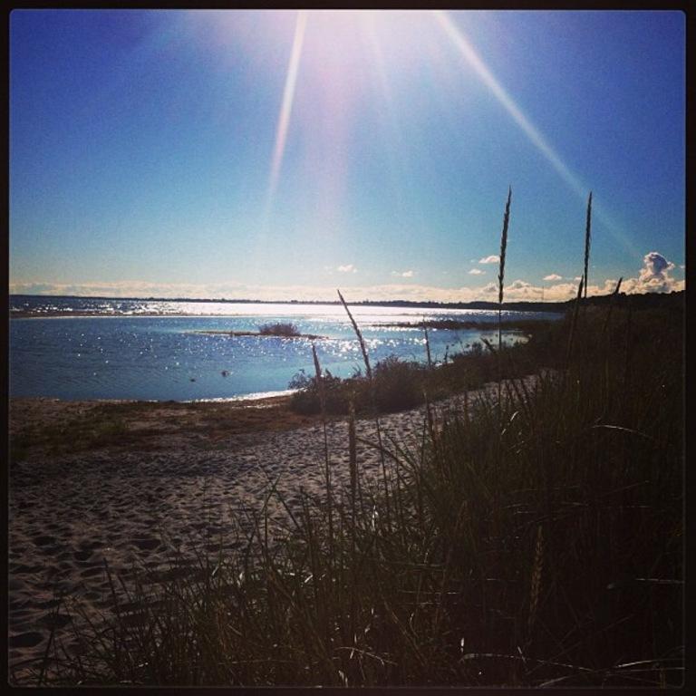 The beach, Køge
