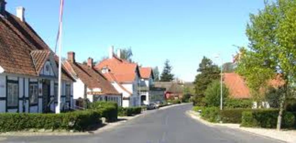 Troense on the island Tåsinge