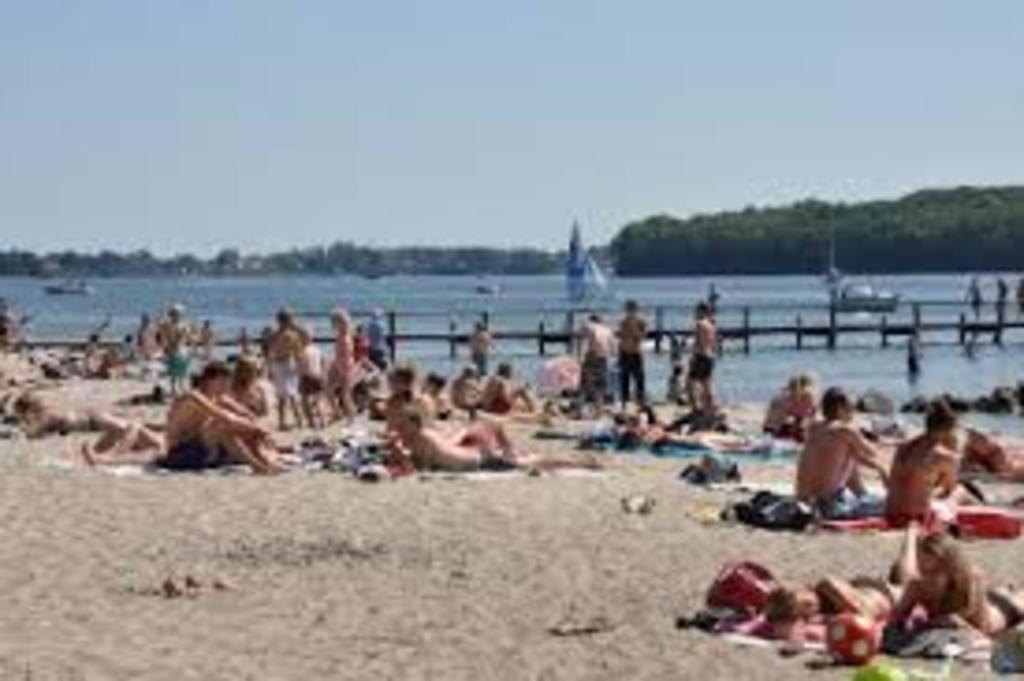 Christiansminde Beach in Svendborg
