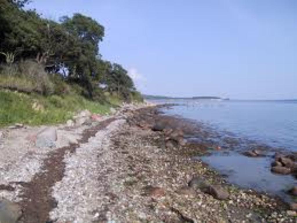 Typical coast line around Svendborg
