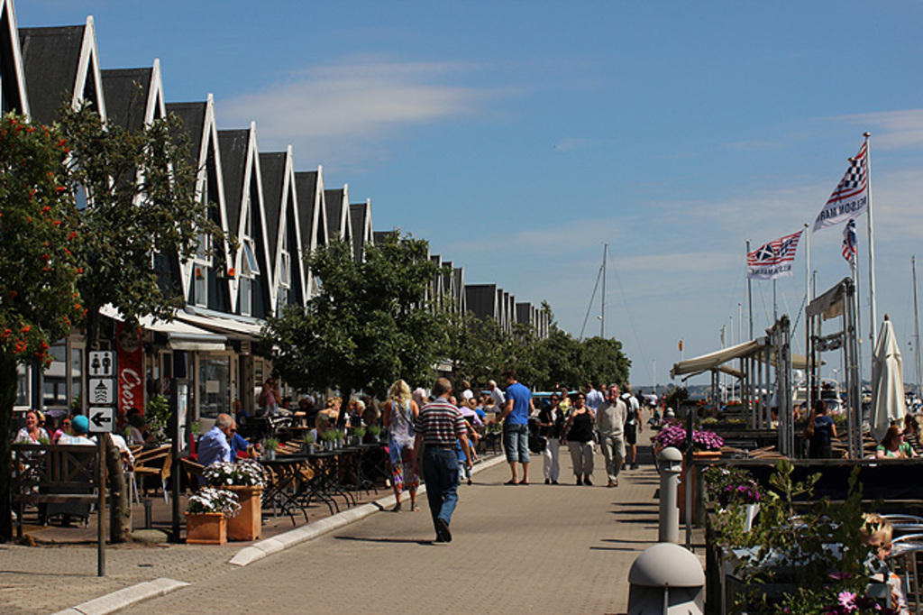 Rungsted Harbour. Relaxed open air food. 5 mins drive.