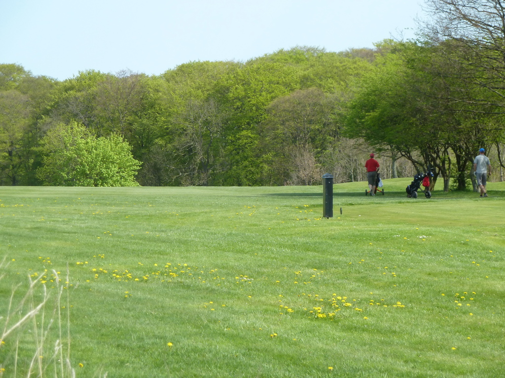 Golf course. Kokkedal Golf Club. Located by end of shared lawns.