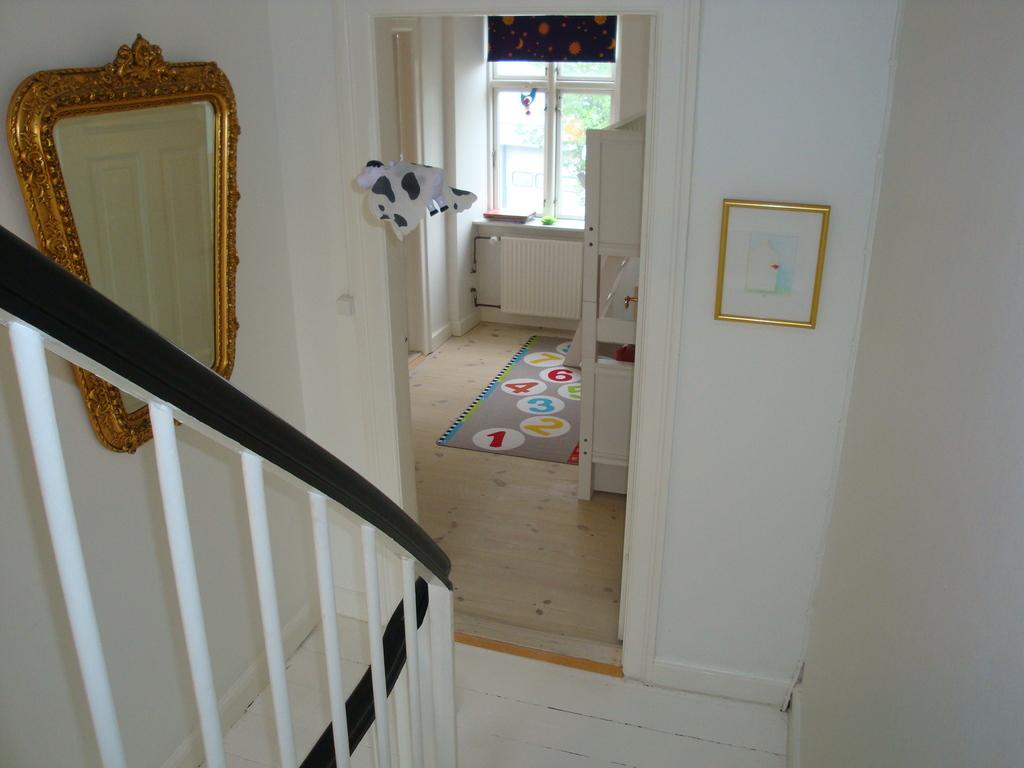 Stairway, first floor