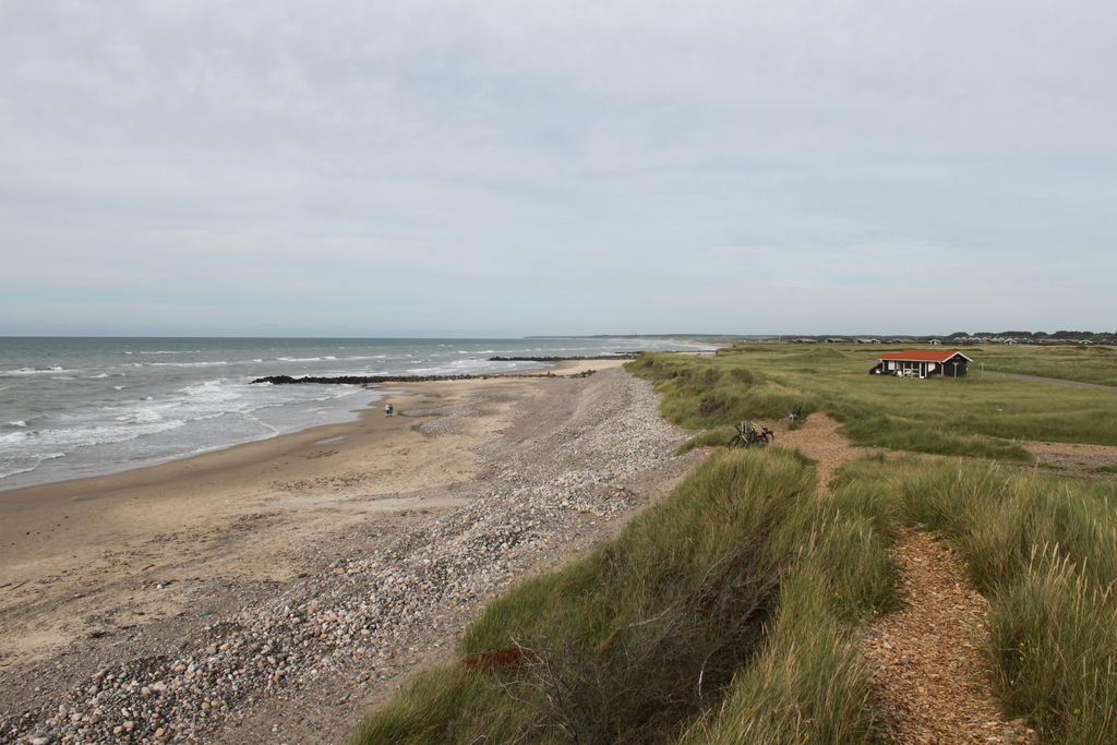 View beach in Lønstrup