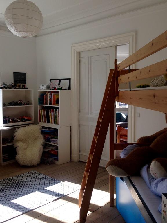 Linus & Otto's room