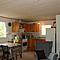 Summer cottage - the livingroom and kitchen