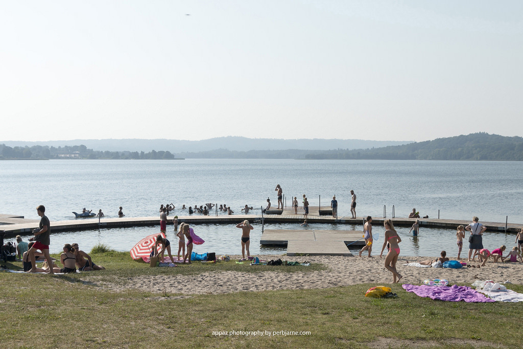 Knudsø - our favorite place to swim  - 10 min. by car /30 min. on bicykle