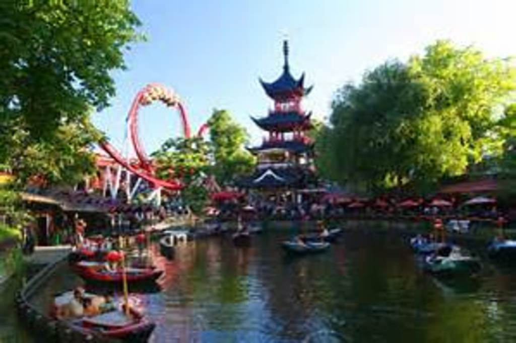 Tivoli Gardens - only 5 minutes away