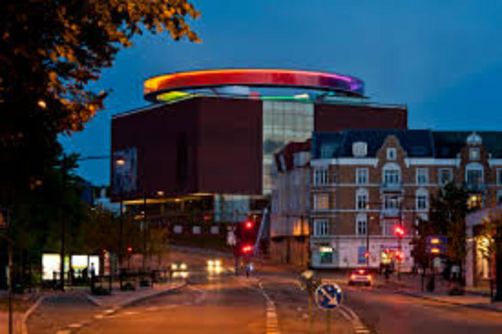 ARoS - famous museum in Aarhus with the spectacular rainbow panorama (Olafur Eliasson) - 10 min. drive