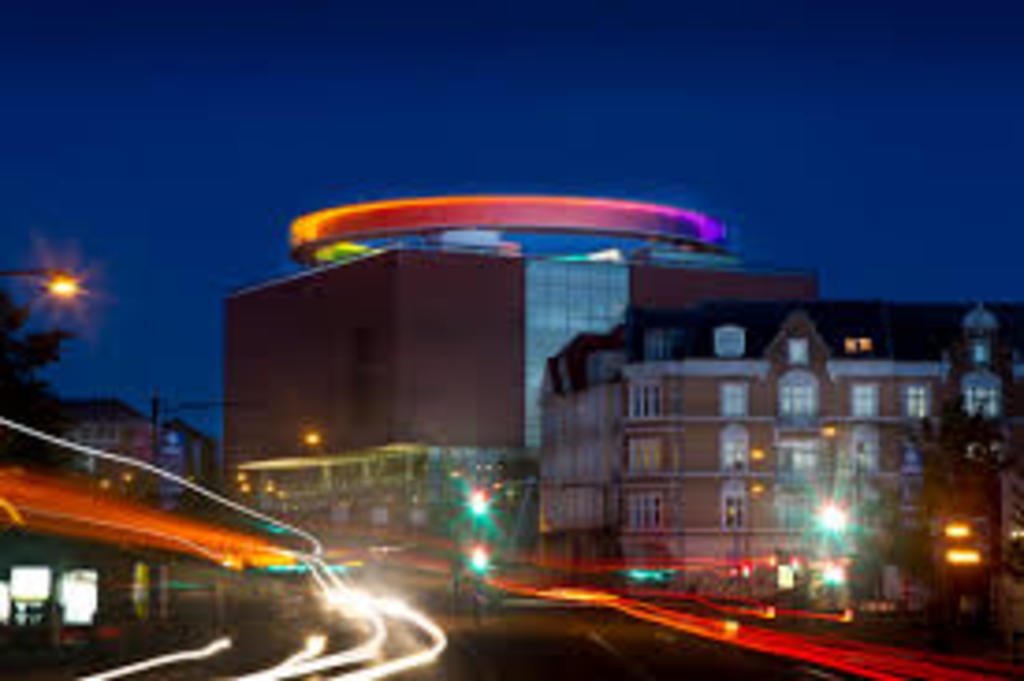 ArOS - famous museum with rainbow panorama view