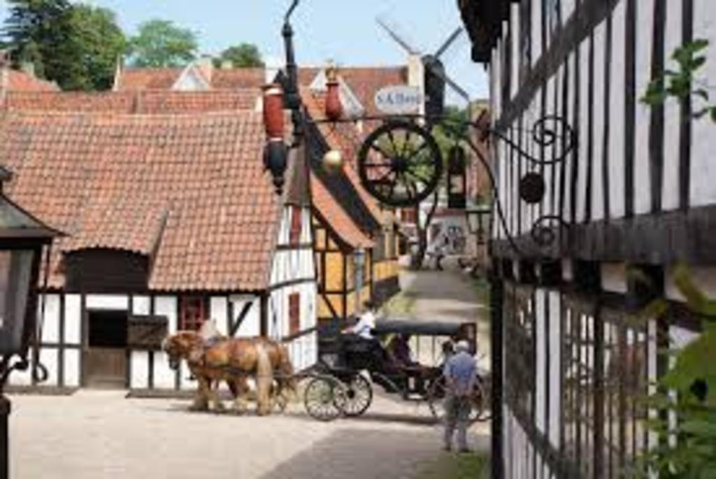 """""""The old town"""" - danish open air museum  15 min. drive"""