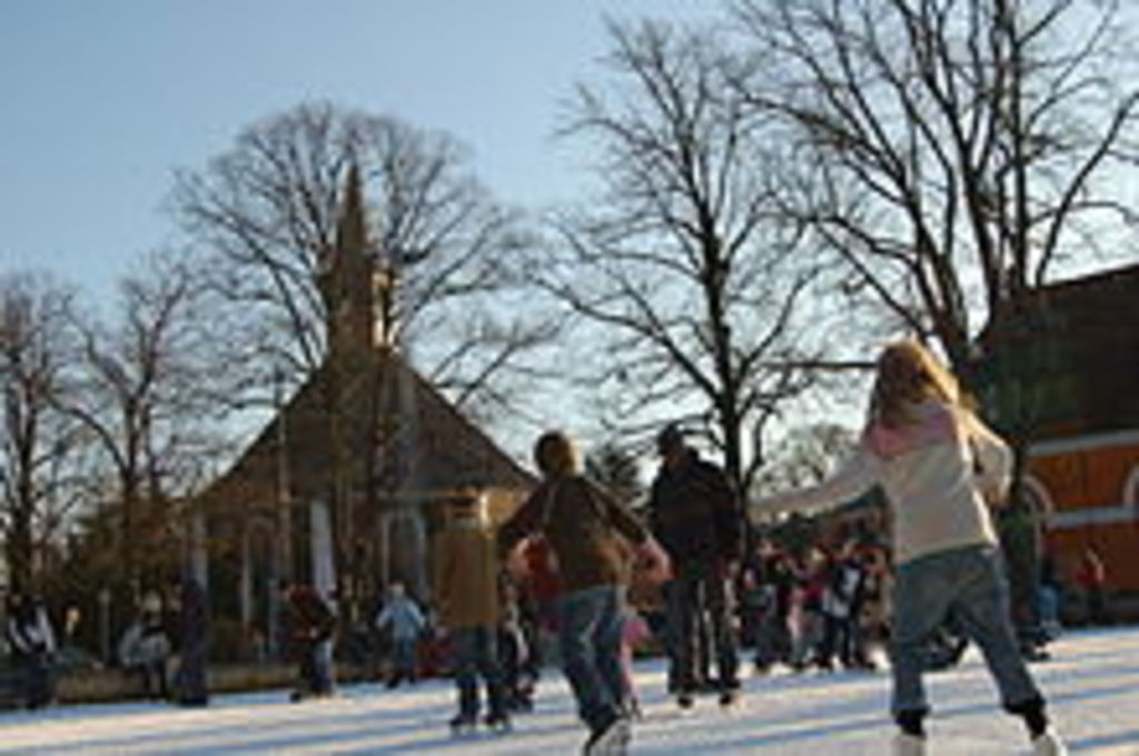 Ice skating (Frederiksberg Runddel - Copenhagen)