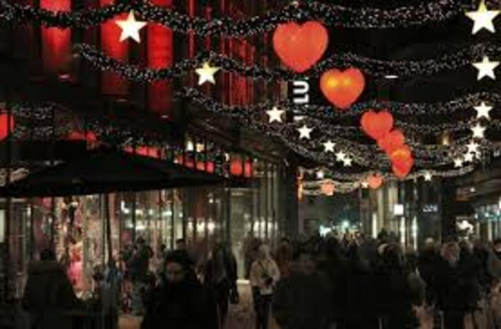 Shopping in Copenhagen around Christmas