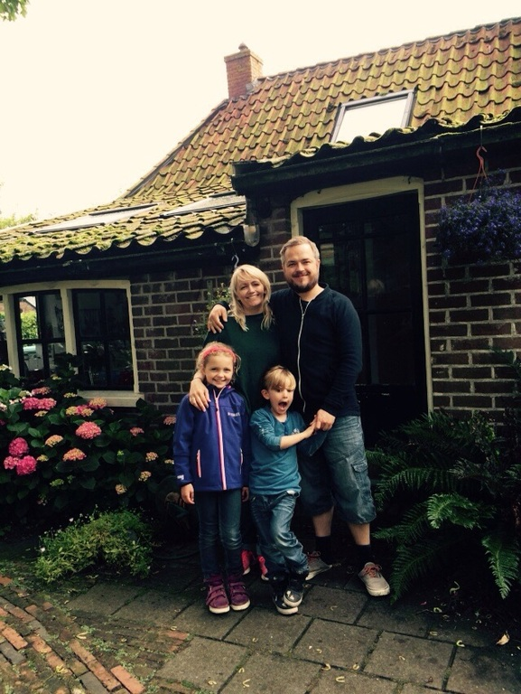 Our wonderful homeexchange summer 2015 in NL