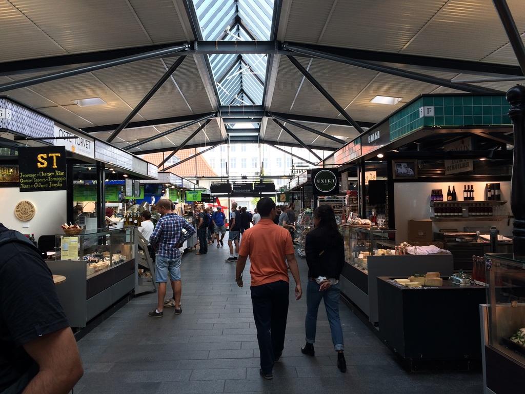 Foodmarket/ torvehallerne - indoor