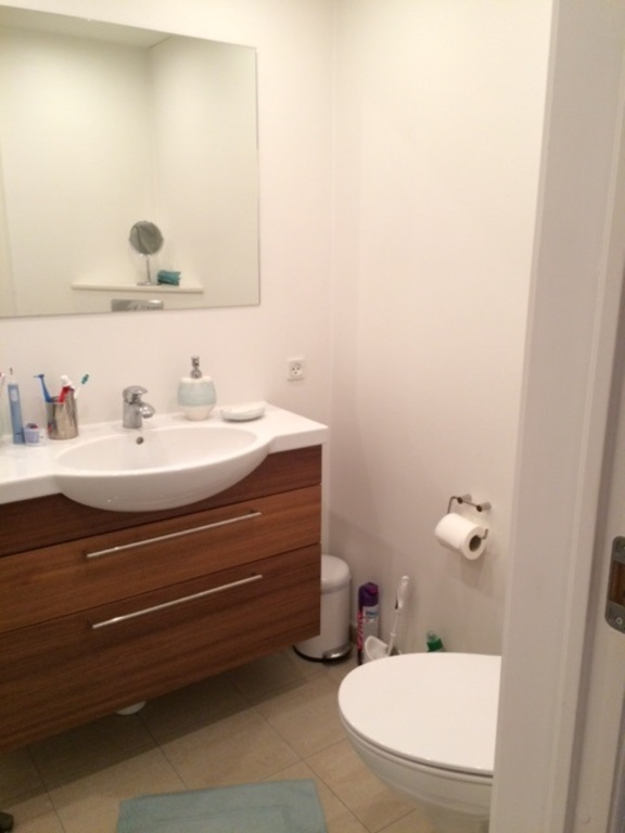 Bathroom - sink and toilet